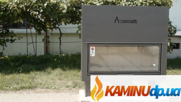 КАМИННАЯ ТОПКА A.CAMINETTI FLAT 140